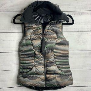 Lululemon Fluffin Awesome Camo Vest